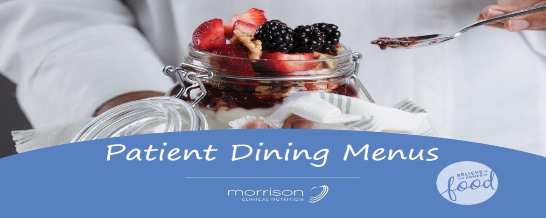 Patient Dining Menus